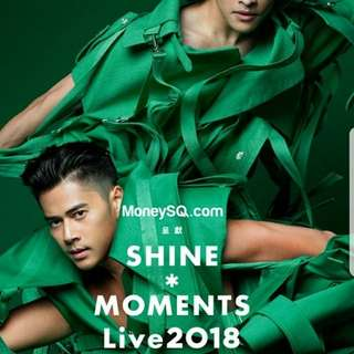 《SHINE*Moments Live 2018》演唱會前排門票2張