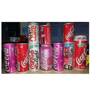 Coca Cola Diet Coke 可口可樂罐 日版 韓版 盜墓者蘿拉