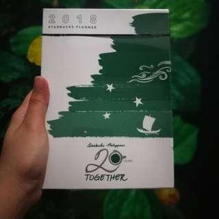 2018 Starbucks Philippines Planner