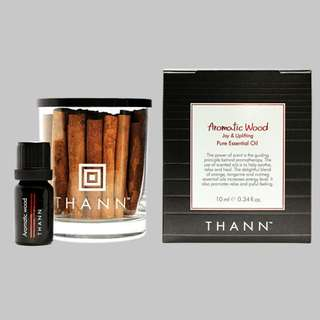 Thann Aromatic Oil Aromatic Wood 10ml With Unit Box