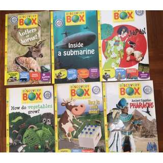 Discovery Box Magazines 21 Issues