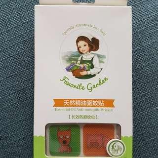 Essential oil anti-mosquito sticker