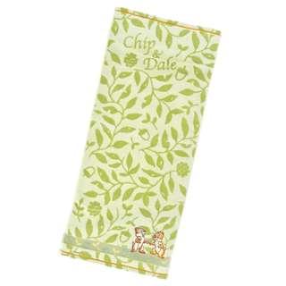 Japan Disneystore Disney Store Chip & Dale Natural Face Towel