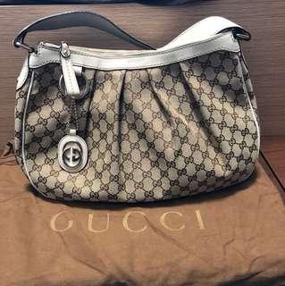 (正品)Gucci 單肩手袋