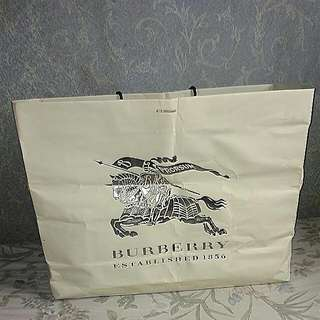 Burberry Paperbag Original