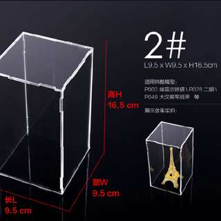 Acrylic display box for miniatures - 2#