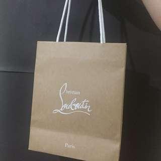 Louboutin ORI Paper bag