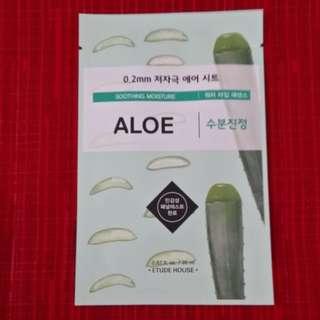 Etude House - Aloe Face Mask