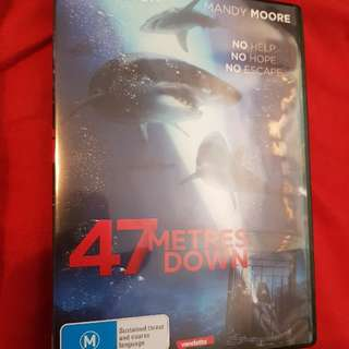 47 Meters Down DVD