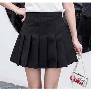Black Tennis Skort/Skirt