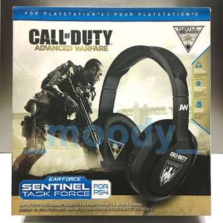 Turtle Beach Call of Duty Advanced Warfare Ear Force Sentinel Task Force Gaming Headset PS4