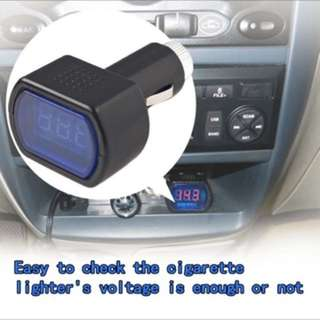 New DC 12V 24V Car Digital LED Engine Battery Voltage Electric Volt Meter Monitor Indicator Tester Voltmeter hot selling