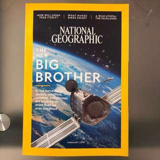 FREE POSTAGE FEB 2018 National Geographic