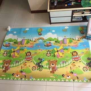 Hello Bear Playmat Foam 2m x 1.32m