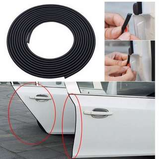 Door Edge Guards Trim Molding Protection Strip Scratch Protector Car Door Guard Crash Barriers sticker for all car 5M