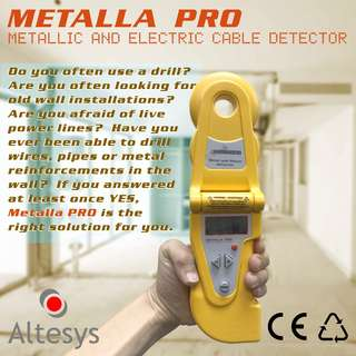 Metalla PRO Rebar and Power Cables Detector
