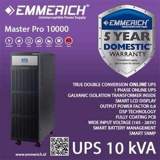 UPS 1 Phase Online Emmerich 10 kVA type Master Pro 10