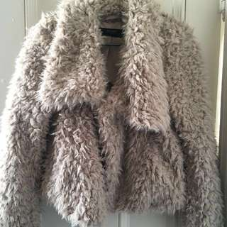 Zara | Teddy Coat Faux Fur