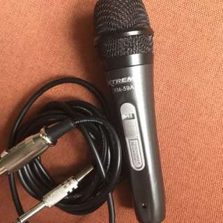 Xtreme microphone wired