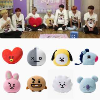 BT21 Pillow Doll (Unofficial) PROMOTION Till 15/04