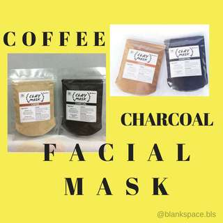 COFFEE AND CHARCOAL CLAY MASK