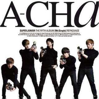 Super Junior 5th Album Repackaged (Ver. C) (A-CHA)