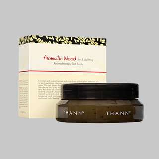 Thann Aromatic Wood Aromatherapy Salt Scrub 230g