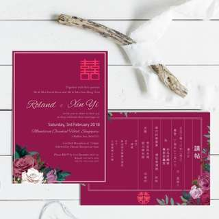 Wedding Invitation Cards and stationery customisation
