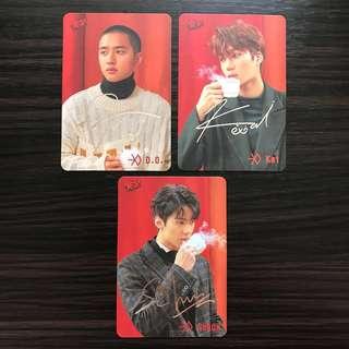 EXO Yes 銀簽卡 D.O. Kai Sehun (30期)