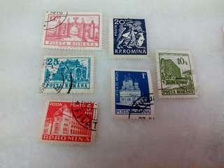 Romania Stamp #A40