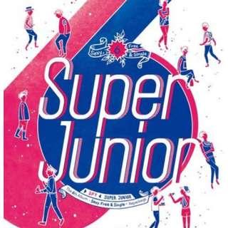 Super Junior 6th Album Repackaged (S.P.Y)