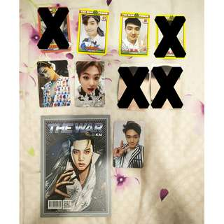EXO Various photocards