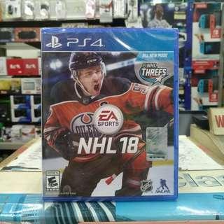 🆕 PS4 NHL 18