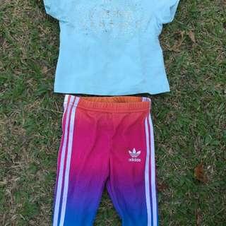 Young Versace Shirt X Adidas Pant Original
