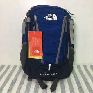 🎒North Face Single Shot Blue