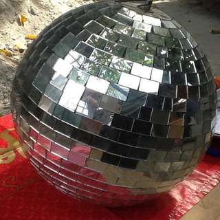 Mirror Ball with rotator