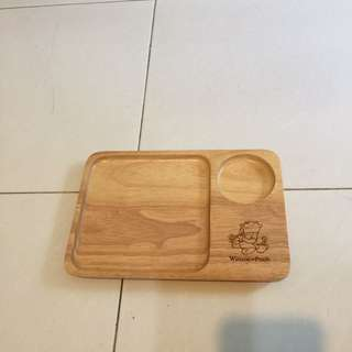 Wooden plate (Winnie the pooh)