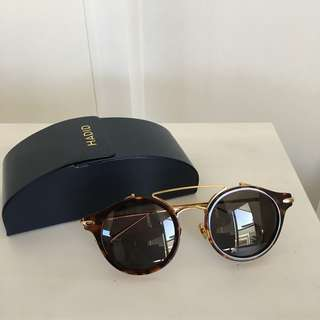 Hadid Eyewear Tortoise and gold sunglasses