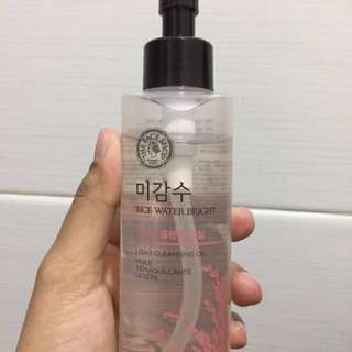 [Preloved] The Face Shop Rice Water Bright Cleansing Oil