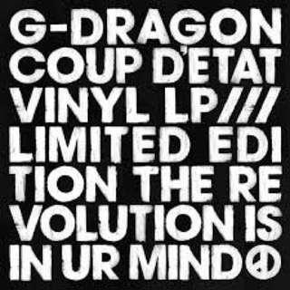 [限量] Bigbang G-Dragon 權志龍 Coup de tat 黑膠