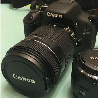 Canon EOS 600D kit set (18-135mm)