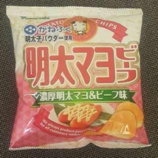 Yamayoshi 明太子蛋黃醬薯片