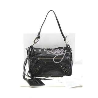 BALENCIAGA 138226 Classic Shoulder 黑色 (NERO) 小手提袋 肩背袋 手袋