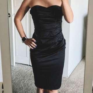 ASOS Midi Black Dress