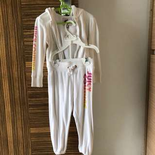 Authentic Juicy couture track suit