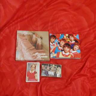 Red Velvet Album & Lomo Cards