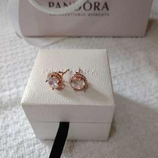 Gift Ideas!!!  Authentic 92.5 Pandora Earrings.
