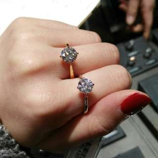 各類型卡裝 鑽石 鑽戒