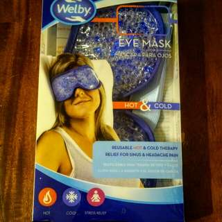 Welby Hot/Cold Eye Mask compress
