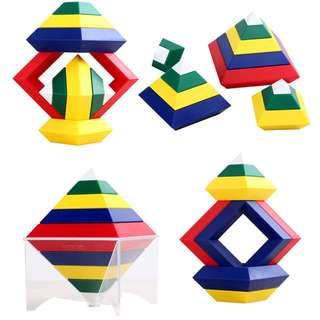 Pyramid Building Blocks